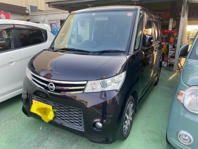 沖縄の中古車 日産 ルークス 車両価格 33万円 リ済別 2010(平成22)年 13.5万km ブラックM