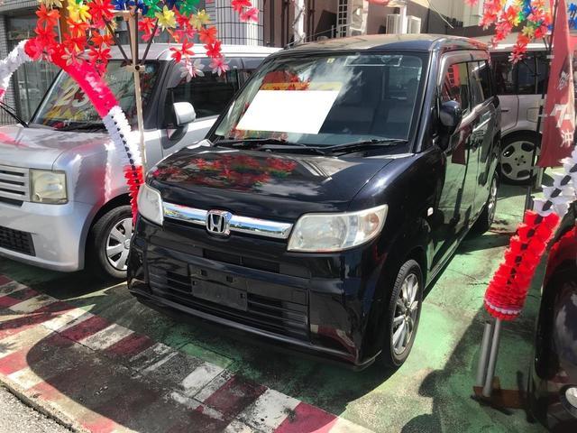 沖縄の中古車 ホンダ ゼスト 車両価格 17万円 リ済込 2007(平成19)年 15.0万km ブラック
