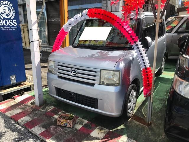 沖縄の中古車 ダイハツ ムーヴコンテ 車両価格 23万円 リ済込 2009(平成21)年 12.1万km シルバー