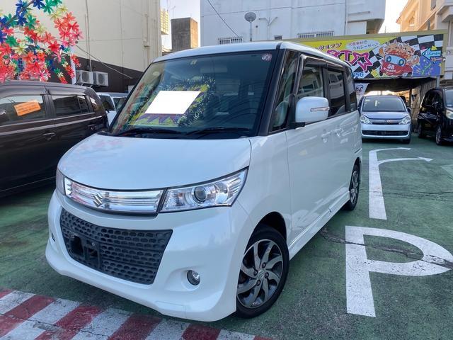 沖縄の中古車 スズキ パレットSW 車両価格 42万円 リ済別 2011(平成23)年 10.7万km パールM