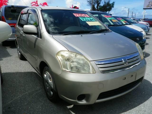 沖縄の中古車 トヨタ ラウム 車両価格 34万円 リ済込 平成16年 8.6万km シルバー