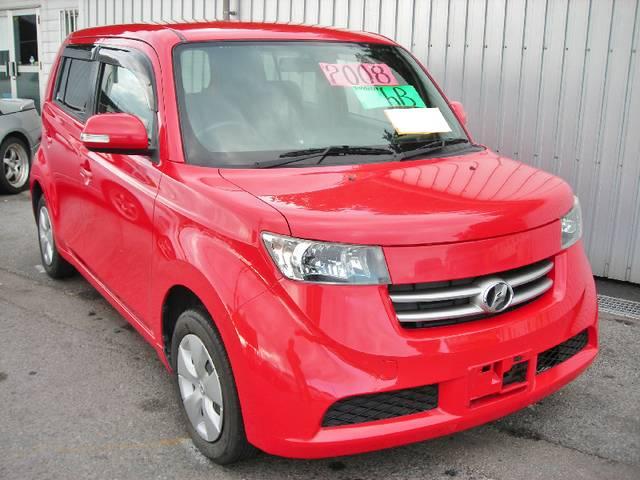 沖縄の中古車 トヨタ bB 車両価格 44万円 リ済込 年式不明 9.9万km レッド