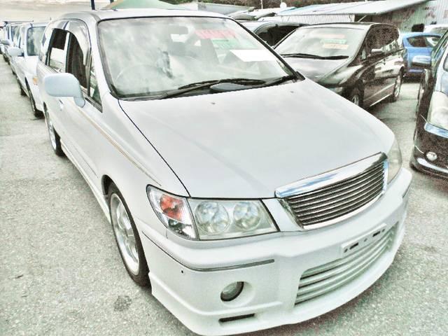 沖縄の中古車 日産 プレサージュ 車両価格 30万円 リ済込 1998(平成10)年 8.1万km ホワイト