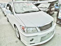 沖縄の中古車 日産 プレサージュ 車両価格 30万円 リ済込 平成10年 8.1万K ホワイト