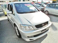 沖縄の中古車 スバル トラヴィック 車両価格 34万円 リ済込 平成14年 8.4万K シルバー