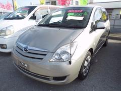 沖縄の中古車 トヨタ カローラスパシオ 車両価格 43万円 リ済込 平成16年 5.9万K ゴールド