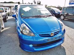 沖縄の中古車 ホンダ フィット 車両価格 43万円 リ済込 平成16年 7.7万K ブルーM