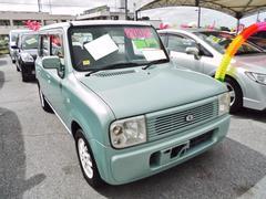 沖縄の中古車 スズキ アルトラパン 車両価格 40万円 リ済込 平成14年 7.6万K グリーン