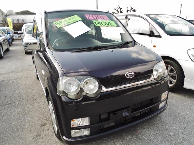 沖縄の中古車 ダイハツ ムーヴ 車両価格 43万円 リ済込 平成14年 6.8万km パープル