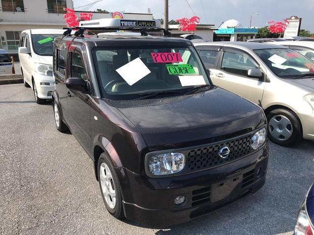 沖縄県の中古車 日産 キューブキュービックのオススメ