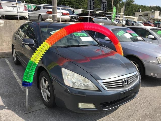 沖縄の中古車 ホンダ インスパイア 車両価格 44万円 リ済込 平成15年 9.6万km グレー