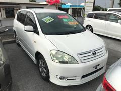 沖縄の中古車 トヨタ イプサム 車両価格 34万円 リ済込 平成14年 9.7万K ホワイト