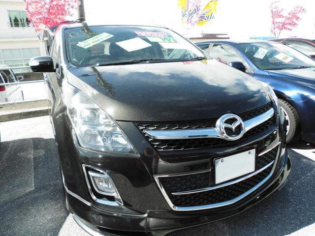 沖縄の中古車 マツダ MPV 車両価格 63万円 リ済込 2009(平成21)年 10.1万km ブラック