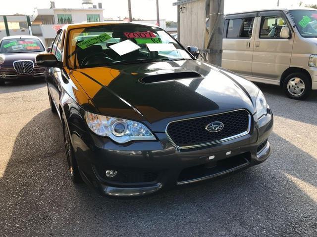 沖縄の中古車 スバル レガシィB4 車両価格 72万円 リ済込 2007(平成19)年 9.6万km グレー