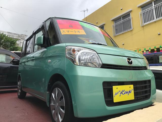 沖縄県沖縄市の中古車ならフレアワゴン XS スマートキー プッシュスタート ナビ TV Bluetooth オートエアコン 両側スライドドア ベンチシート