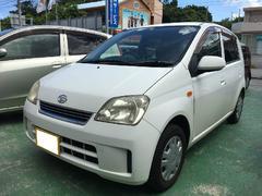 沖縄の中古車 ダイハツ ミラ 車両価格 14万円 リ済込 平成17年 11.7万K ホワイト