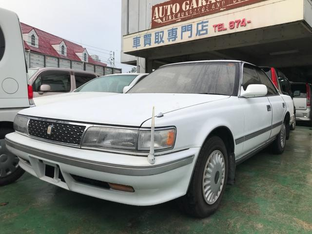 沖縄の中古車 トヨタ チェイサー 車両価格 29万円 リ済込 1991(平成3)年 7.2万km スーパーホワイトIV
