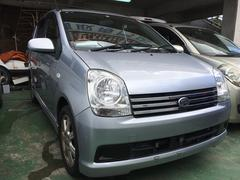 沖縄の中古車 ダイハツ ミラアヴィ 車両価格 22万円 リ済込 平成15年 7.8万K ブライトシルバーメタリック