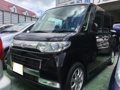 沖縄の中古車 ダイハツ タント 車両価格 44万円 リ済込 平成20年 11.4万K ブラックマイカ
