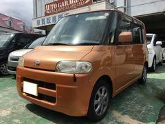 沖縄の中古車 ダイハツ タント 車両価格 24万円 リ済込 平成18年 5.7万K アプリコットキャンディメタリック