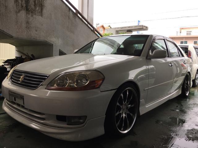 沖縄県の中古車ならマークII グランデiR-V インタークーラー