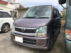 沖縄の中古車 マツダ AZワゴン 車両価格 28万円 リ済込 平成20年 6.4万K ミステリアスバイオレットパール