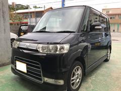 沖縄の中古車 ダイハツ タント 車両価格 18万円 リ済込 平成19年 16.6万K ブラックマイカ