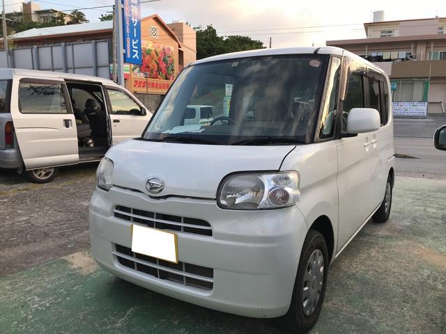 沖縄の中古車 ダイハツ タント 車両価格 36万円 リ済込 平成20年 4.1万km パールホワイトIII