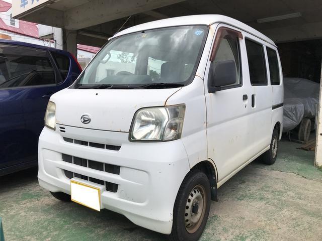 沖縄県の中古車ならハイゼットカーゴ スペシャル エアコン パワステ