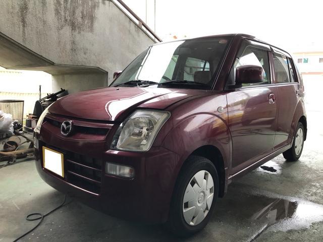 沖縄の中古車 マツダ キャロル 車両価格 24万円 リ済込 2008(平成20)年 4.2万km ワインM