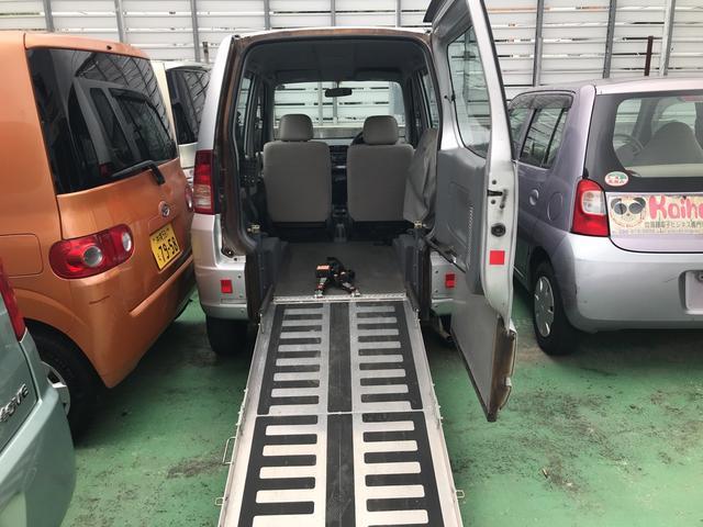 沖縄県の中古車ならトッポBJ 介護スロープ 車椅子固定装置