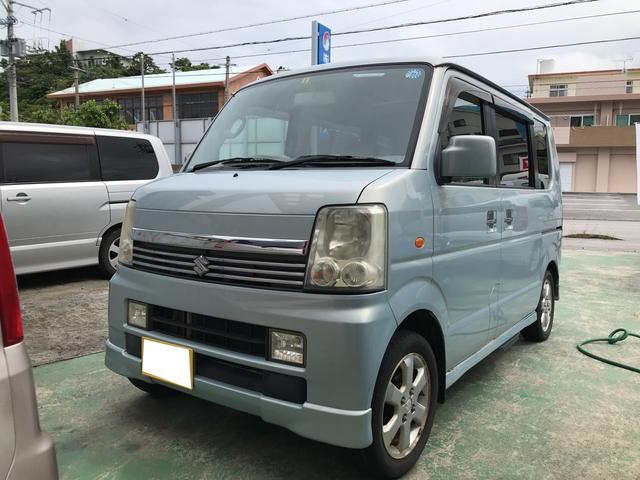 沖縄県うるま市の中古車ならエブリイワゴン PZターボスペシャル