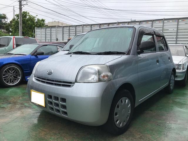 沖縄県の中古車ならエッセ D キーレス CD