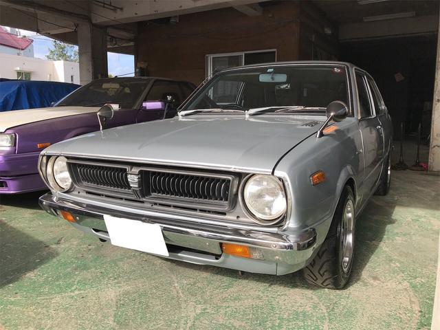 沖縄の中古車 トヨタ カローラ 車両価格 ASK リ済込 1975(昭和50)年 走不明 シルバーM