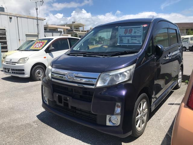 沖縄県うるま市の中古車ならムーヴ カスタム X SA 衝突軽減システム