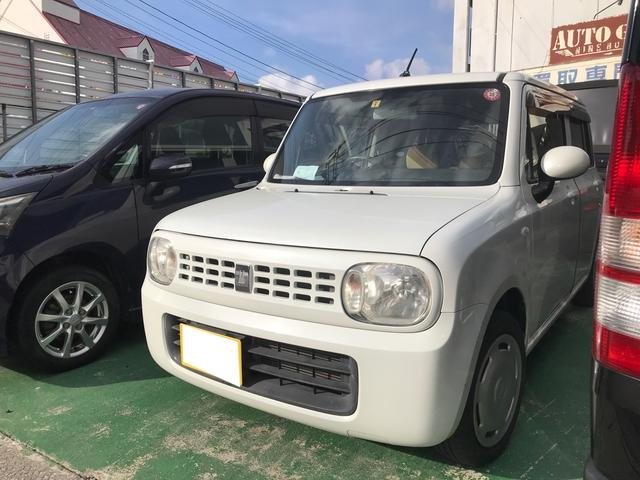 沖縄の中古車 スズキ アルトラパン 車両価格 28万円 リ済込 2009(平成21)年 11.1万km パールホワイト