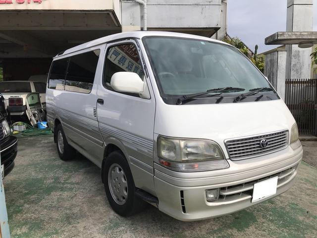 沖縄県の中古車ならハイエースワゴン スーパーカスタムG エクセレントパッケージ ディーゼルターボ イージークローザー トリプルムーンルーフ 4ナンバー