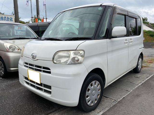 沖縄県の中古車ならタント L キーレス スライドドア 純正オーディオ ベンチシート Wエアバック 現状販売