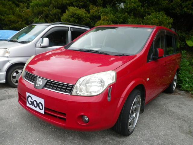 沖縄の中古車 日産 ラフェスタ 車両価格 25万円 リ済込 平成18年 13.4万km レッド