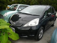 沖縄の中古車 ホンダ フィット 車両価格 32万円 リ済込 平成20年 10.0万K ブラック