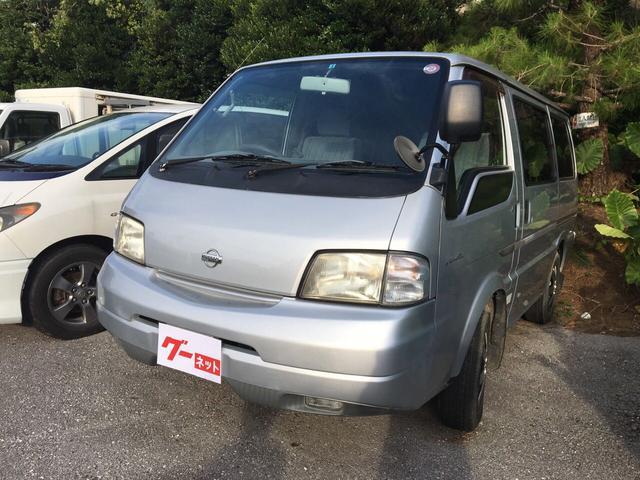 沖縄の中古車 日産 バネットバン 車両価格 28万円 リ済込 平成15年 16.7万km シルバー