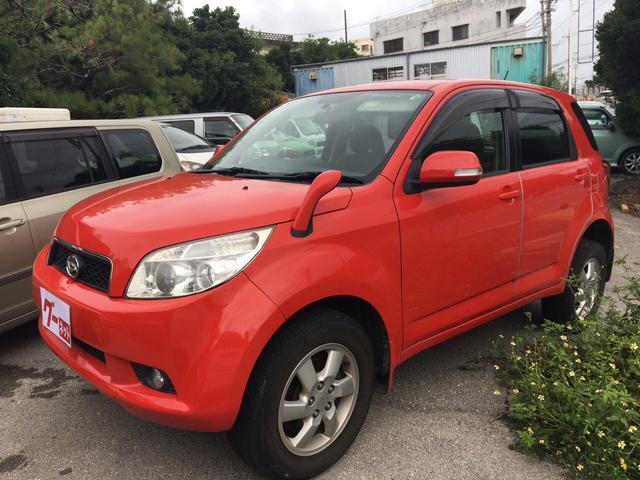 沖縄の中古車 ダイハツ ビーゴ 車両価格 30万円 リ済込 2008(平成20)年 14.1万km レッド