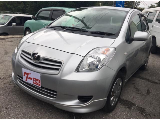 沖縄の中古車 トヨタ ヴィッツ 車両価格 15万円 リ済込 平成18年 9.0万km シルバー