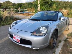 沖縄の中古車 トヨタ MR−S 車両価格 48万円 リ済込 平成12年 14.7万K シルバー