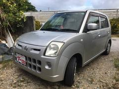 沖縄の中古車 日産 ピノ 車両価格 15万円 リ済込 平成21年 12.3万K シルバー