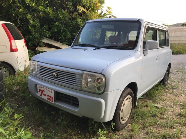 沖縄の中古車 スズキ アルトラパン 車両価格 15万円 リ済込 平成17年 11.0万km ライトブルー