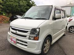 沖縄の中古車 スズキ ワゴンR 車両価格 17万円 リ済込 平成18年 11.8万K パールホワイト