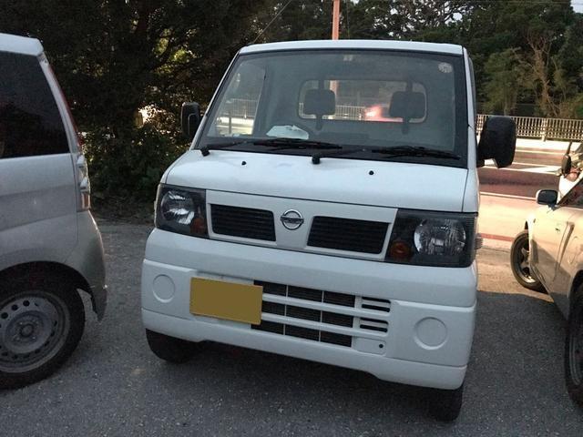沖縄の中古車 日産 クリッパートラック 車両価格 46万円 リ済込 平成23年 5.6万km ホワイト