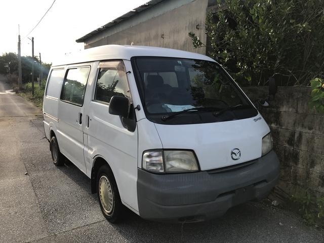 沖縄の中古車 マツダ ボンゴバン 車両価格 25万円 リ済込 2005(平成17)年 22.0万km ホワイト