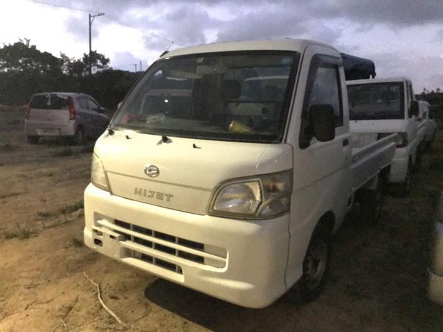 沖縄の中古車 ダイハツ ハイゼットトラック 車両価格 28万円 リ済込 2008(平成20)年 8.9万km ホワイト